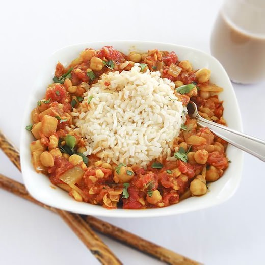 Tomato & Chickpea Curry | One Ingredient Chef