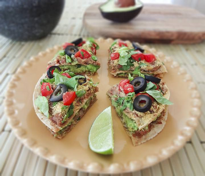 Mini Mexican Pizzas Recipe — Dishmaps
