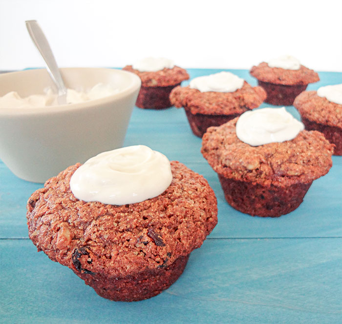 Healthy Carrot Cake Muffins Applesauce