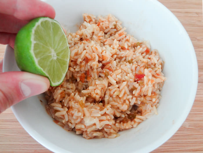Spanish Rice Lime