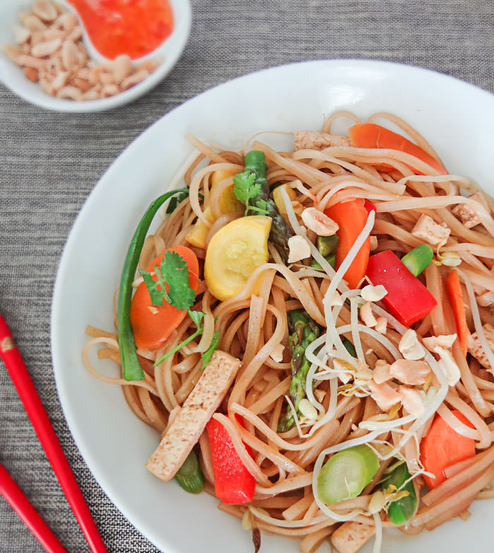 Gallery For > Vegetarian Pad Thai With Tofu