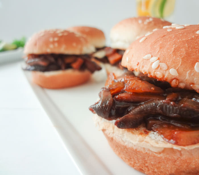 BBQ Portobello Sliders