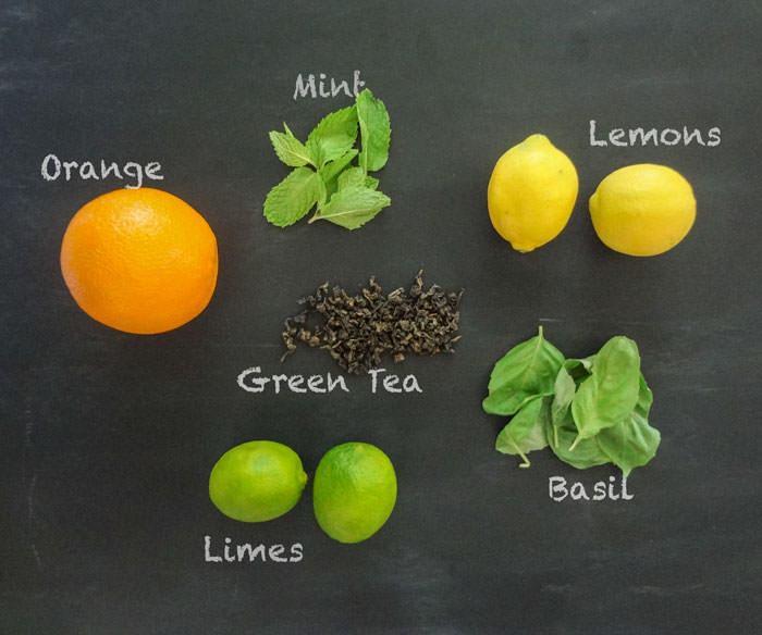 Citrus Green Tea Ingredients