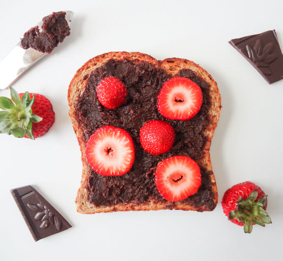 Chocolate Ganache Toast Recipe