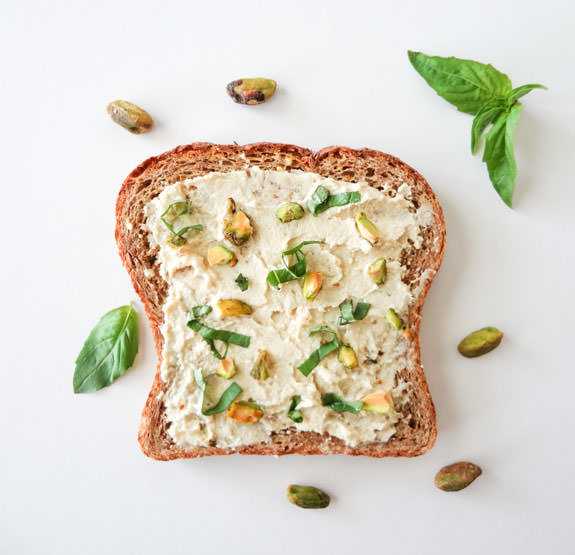 Tofu Ricotta Toast Recipe