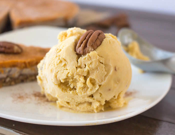 Vegan Pumpkin Ice Cream Recipe | One Ingredient Chef