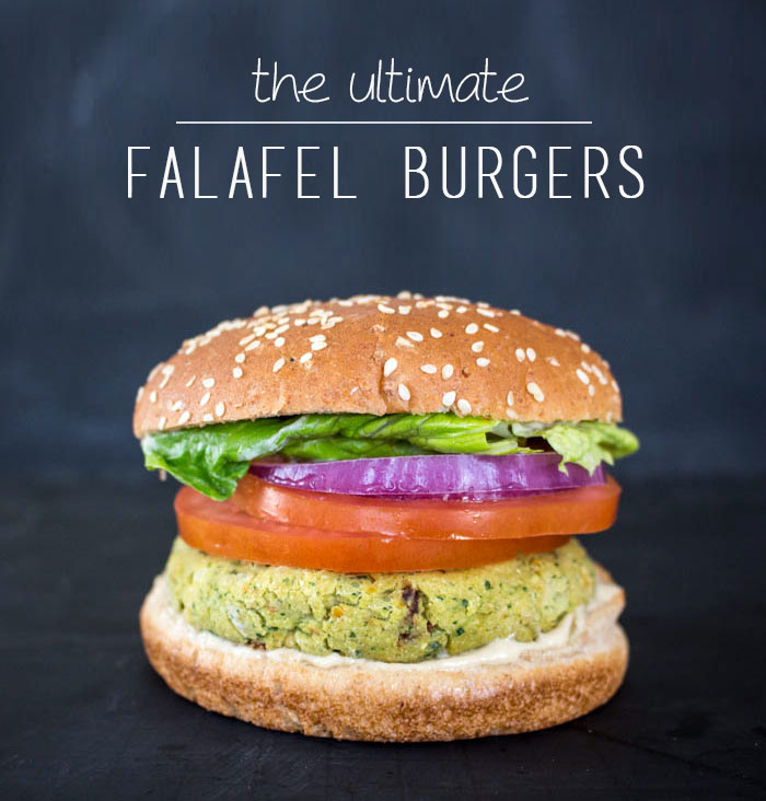 Falafel Veggie Burger Recipe | One Ingredient Chef