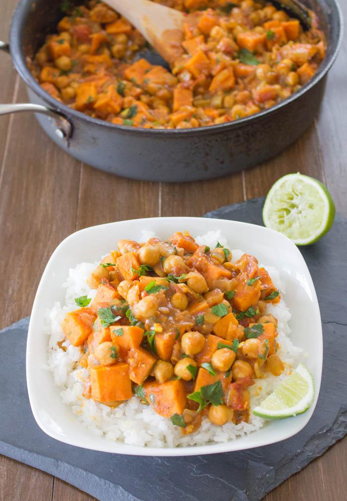Coconut Sweet Potato Curry One Ingredient Chef