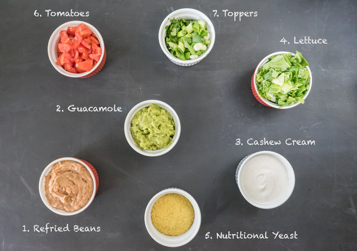 7 Layer Dip Ingredients