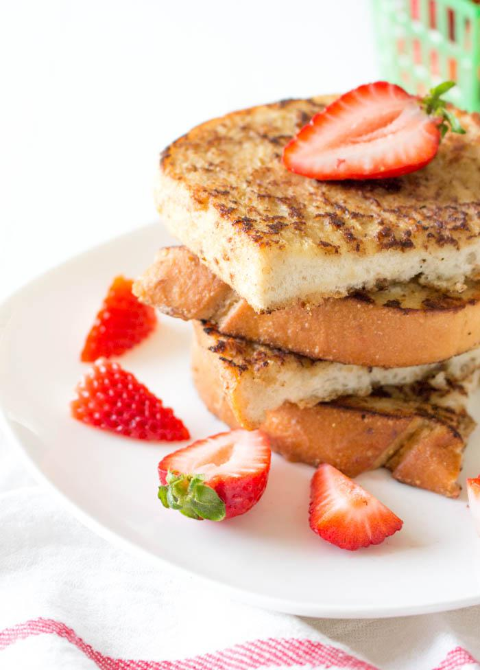 Vegan French Toast Half