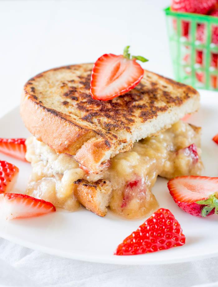 Vegan French Toast Sandwich