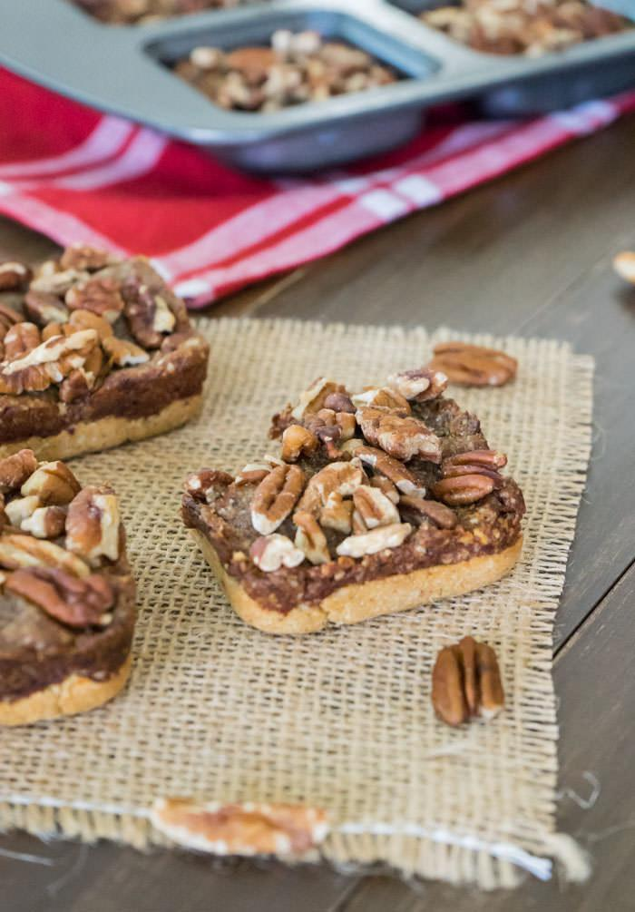 Pecan Pie Bars Bite