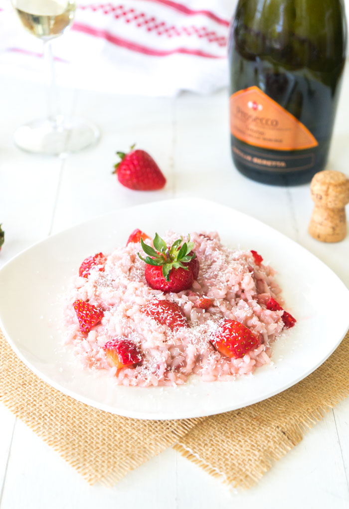 Strawberry Risotto | Strawberry Rice Pudding | One Ingredient Chef