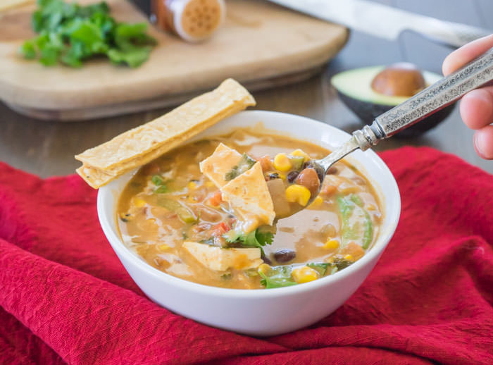Tortilla Soup Spoon