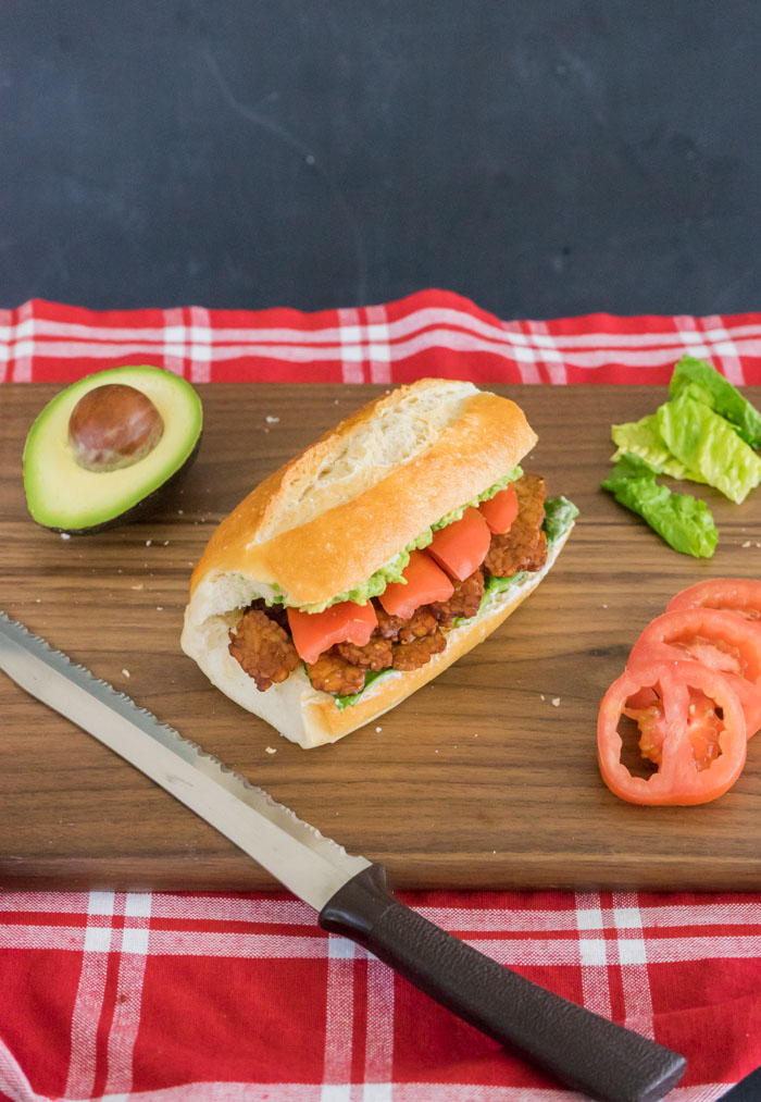 Vegan BLT Cutting Board