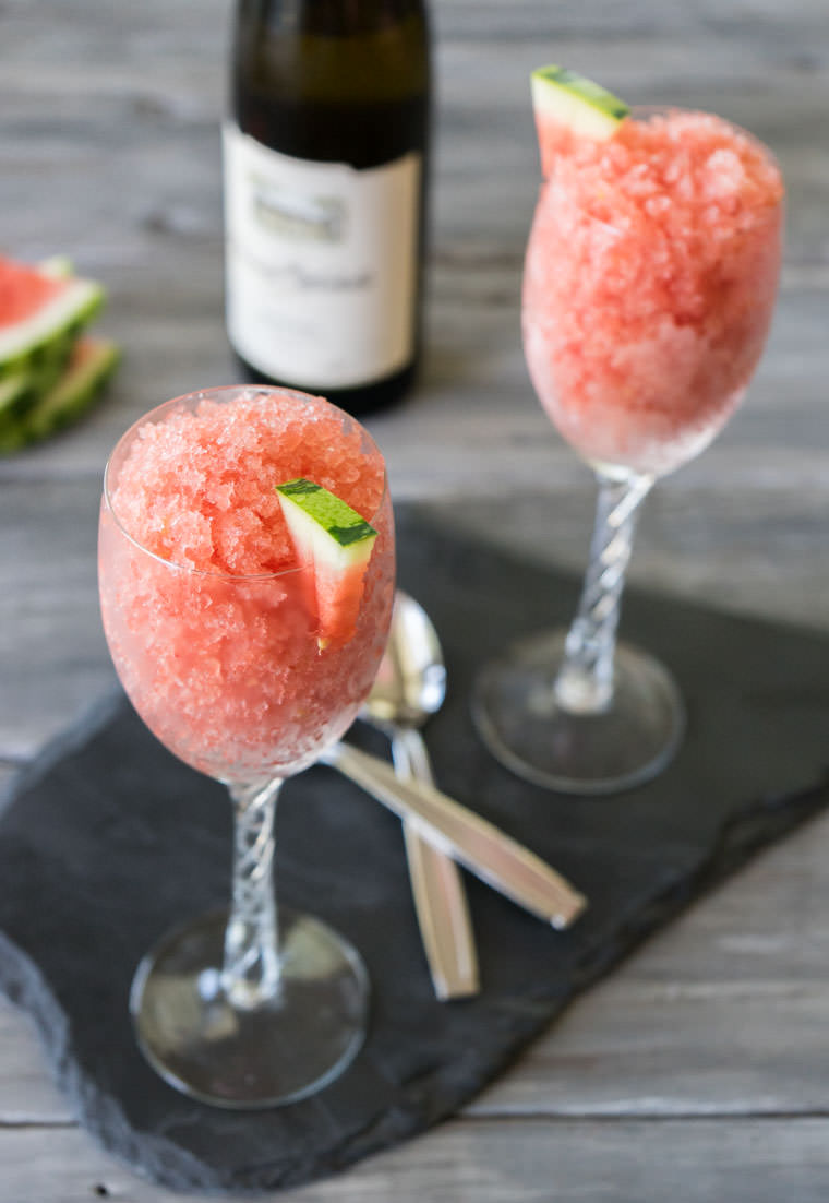 Watermelon Granita Recipe | One Ingredient Chef