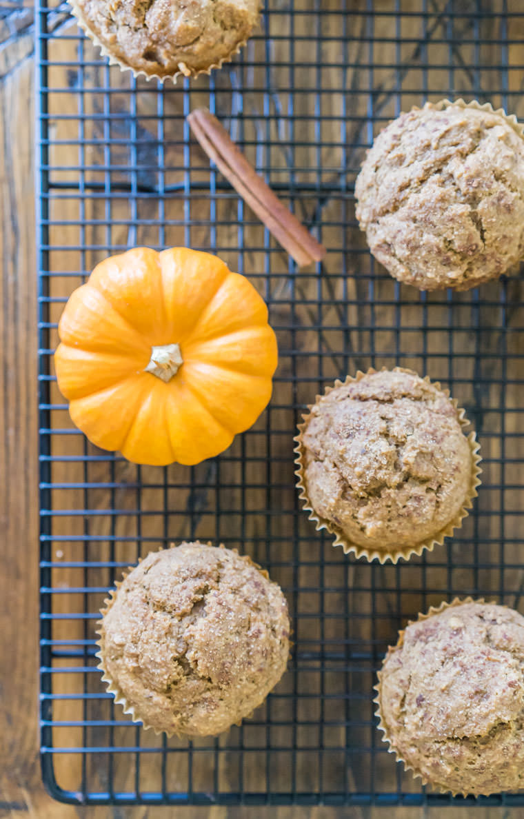 Pumpkin Spice Latte Muffin Recipe | One Ingredient Chef