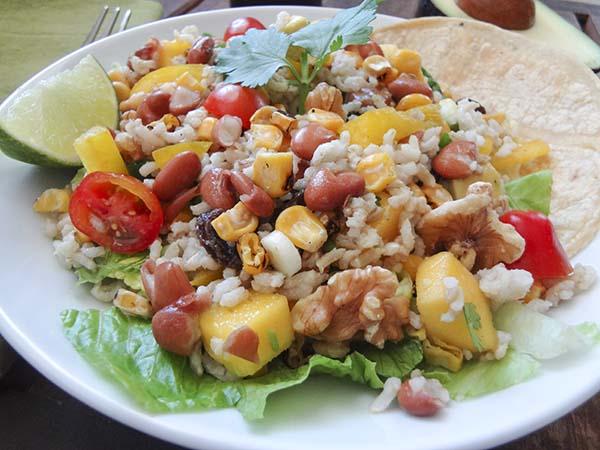 Rice Salad Tacos