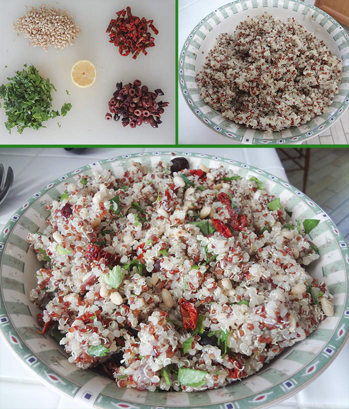 Quinoa Tabbouleh Stuffed Peppers