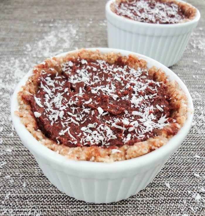 Chocolate Macaroon Pie Ramekin