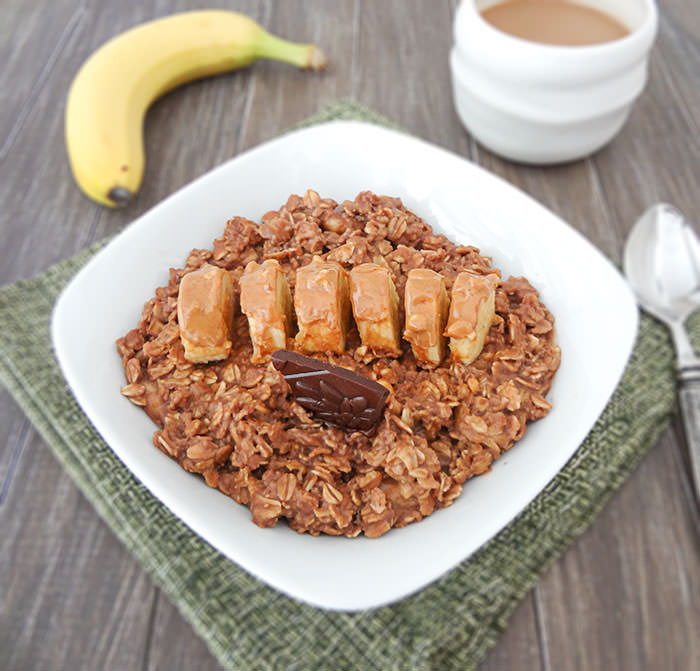 Peanut Butter Cup Oatmeal