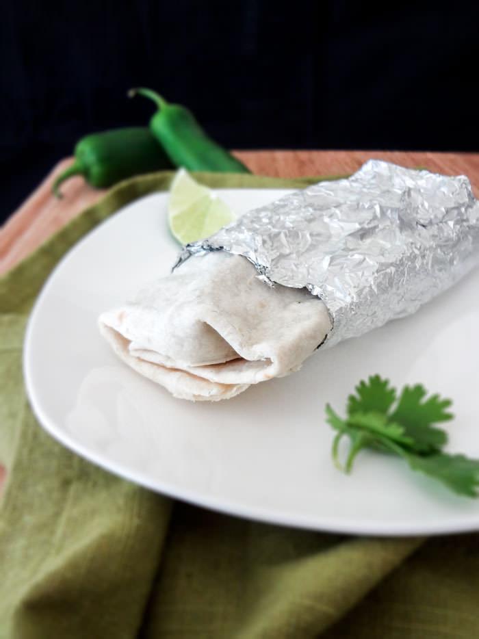 Frozen Burrito Whole