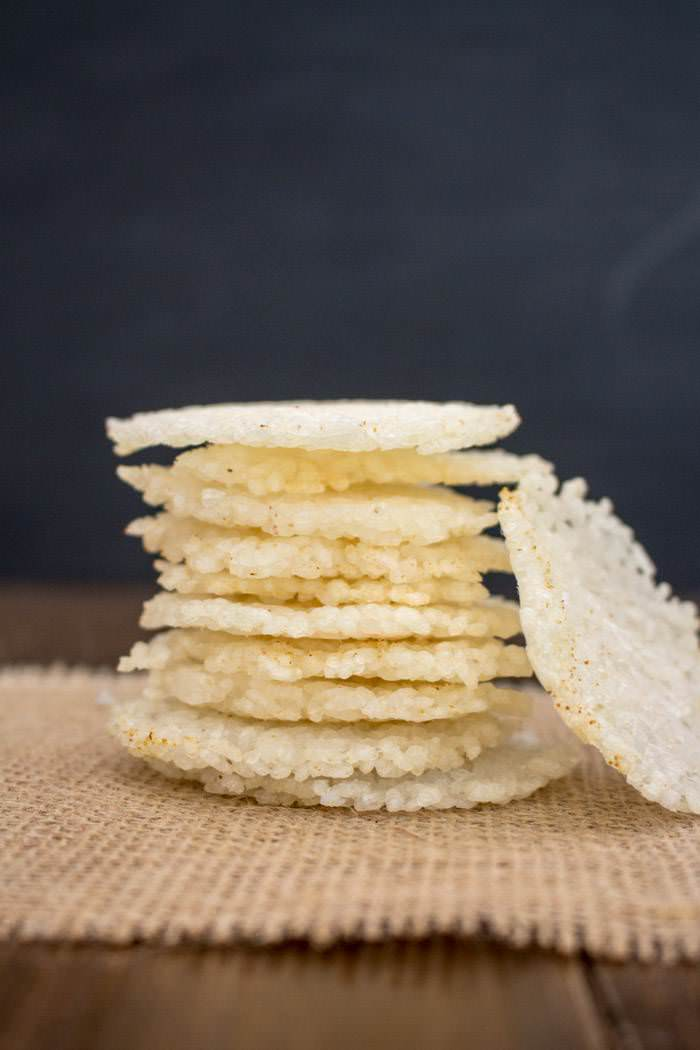 Sushi Rice Crackers Recipe One Ingredient Chef