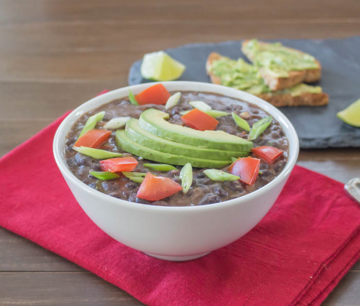 Black Bean Soup Square