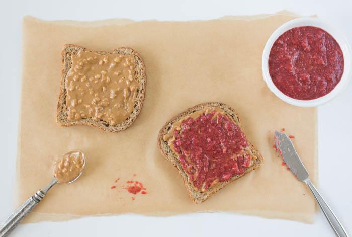 Chia Jam Sandwich