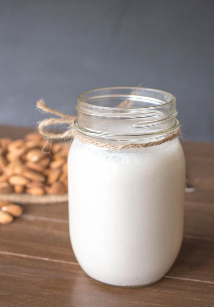 Thick Almond Milk Jar