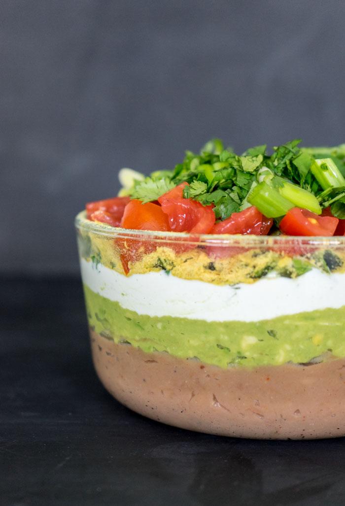 Vegan 7 Layer Dip Recipe One Ingredient Chef