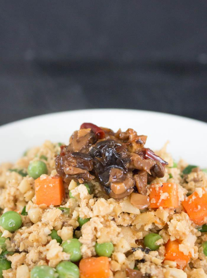 Cauliflower Fried Rice XO Sauce