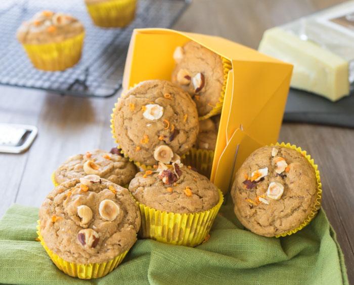 Orange Muffins Side