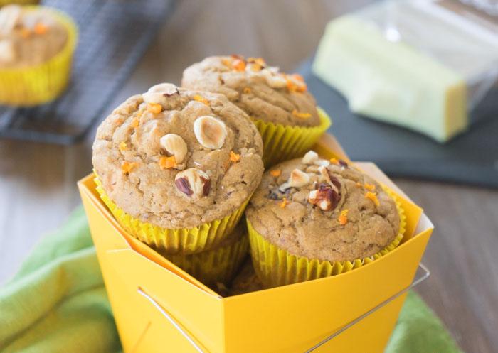 Orange Muffins Wide