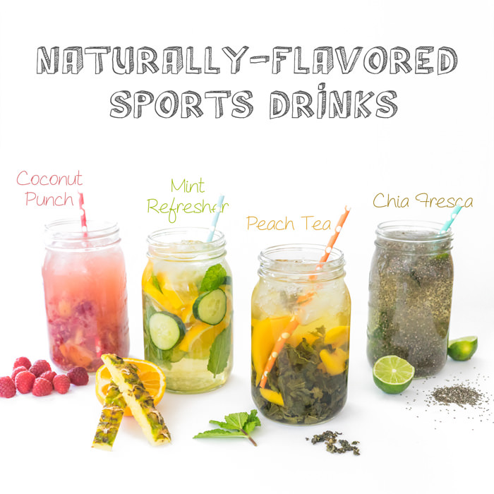 Homemade Sports Drinks