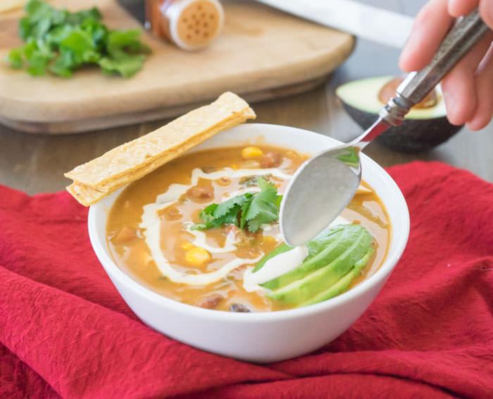 Tortilla Soup Swirl