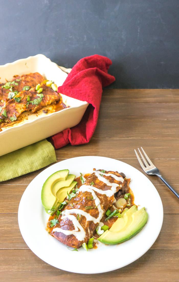 Vegan-Enchiladas-Dish