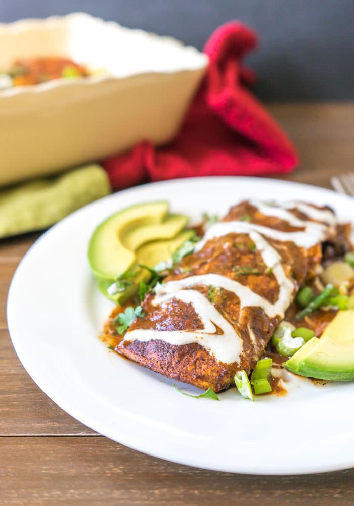 Vegan-Enchiladas
