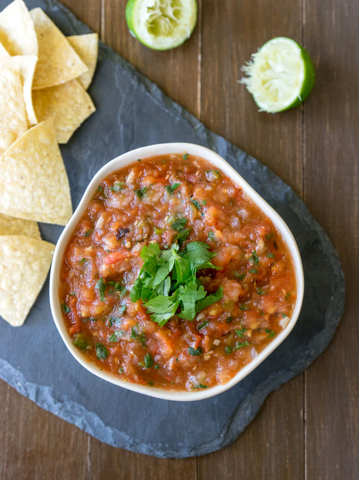 Roasted Salsa Top