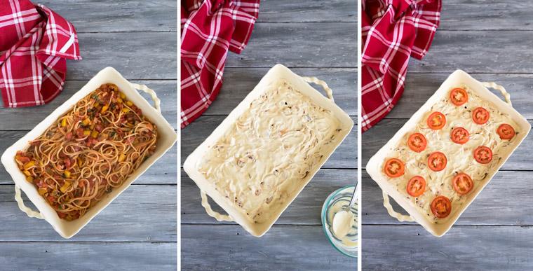 Spaghetti-Steps