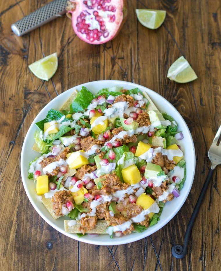 Chickpea-Taco-Salad