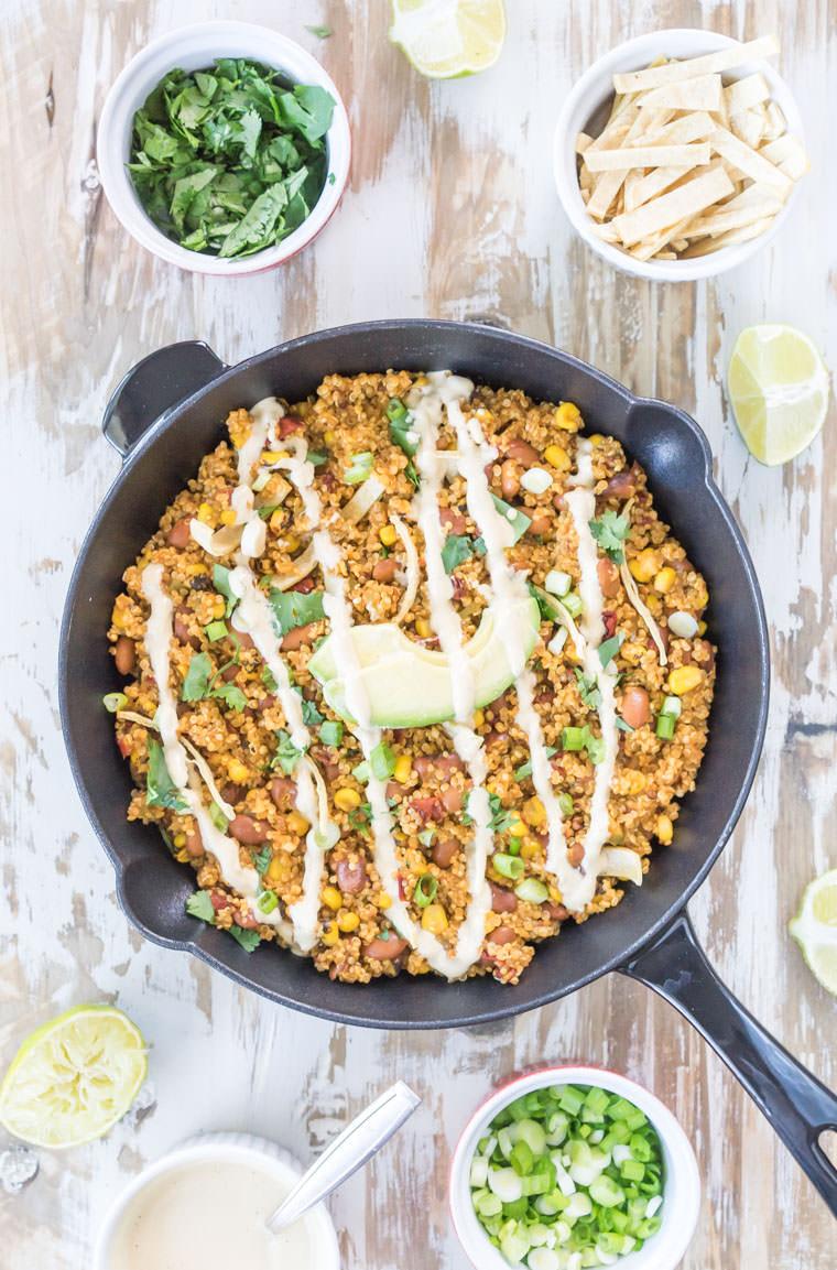 Quinoa-Skillet