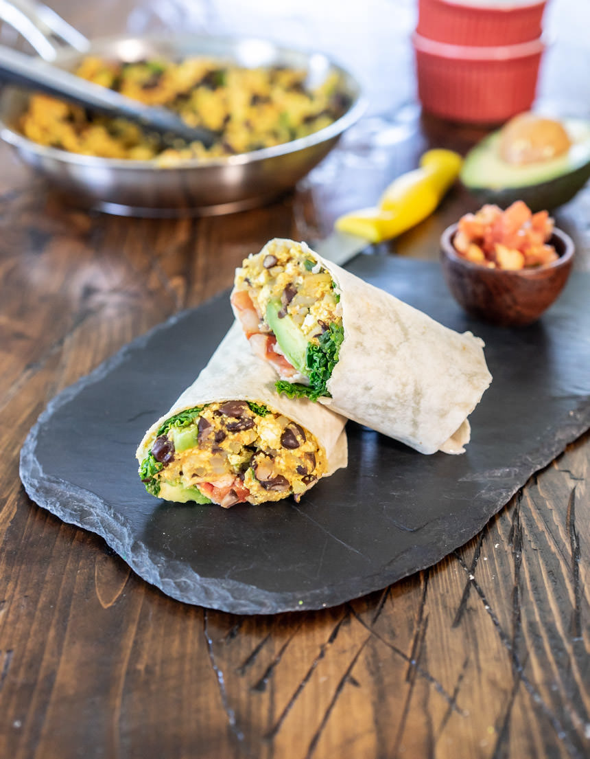 Vegan Breakfast Burrito Recipe One Ingredient Chef